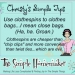 Christy's Simple Tips: Using Clothespins to Close Bags