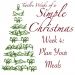 Twelve Weeks of a Simple Christmas: Week 4 Mission