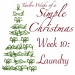 Twelve Weeks of a Simple Christmas — Week 10