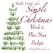 Twelve Weeks of a Simple Christmas: Week Two Mission