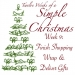 Twelve Weeks of a Simple Christmas — Week 9