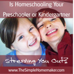 Homeschool Preschool Part 1 Pinnable