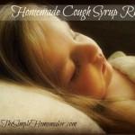 Homemade Cough Syrup Recipes via The Simple Homemaker