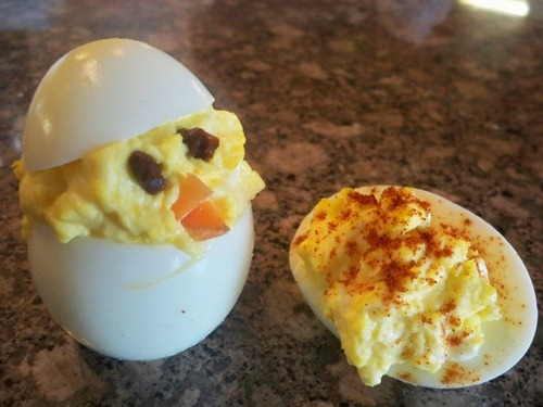 Deviled Eggs Recipe and Stuffed Chicks