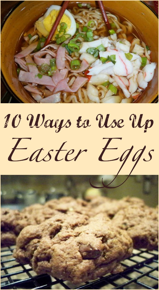 10 Ways to Use Up Easter Eggs