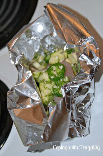 Pouch Cooking: Baking Fish in Foil