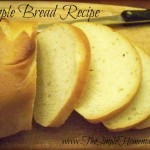 The Simple Homemakers Simple Bread Recipe