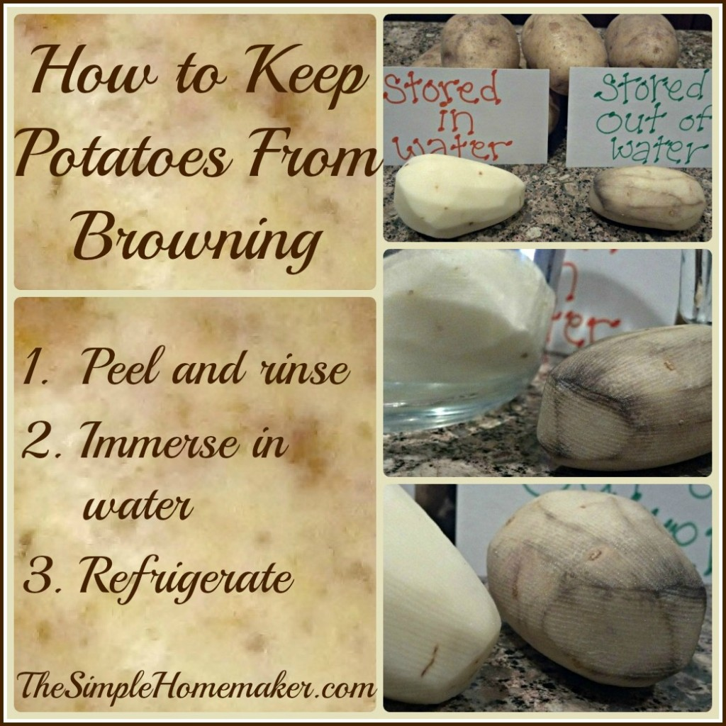 How to Keep Potatoes From Browning