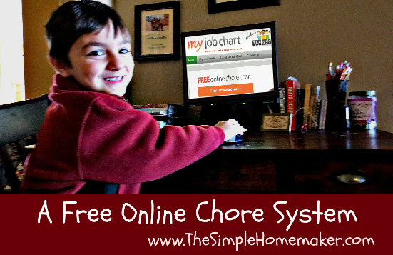 Free online chore chart--find out what real kids think. | TheSimpleHomemaker.com