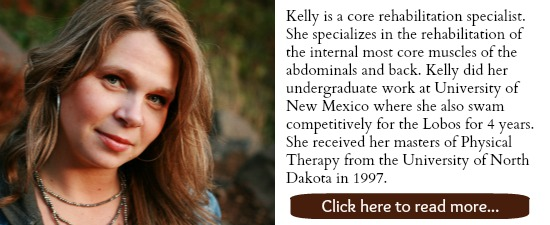 Kelly of The Tummy Team can help YOU fix your pooch, back pain, bladder leakage, and more!