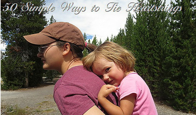 Simple Saturday Heartstrings Challenge: 50 Simple Ways to Bond With Loved Ones