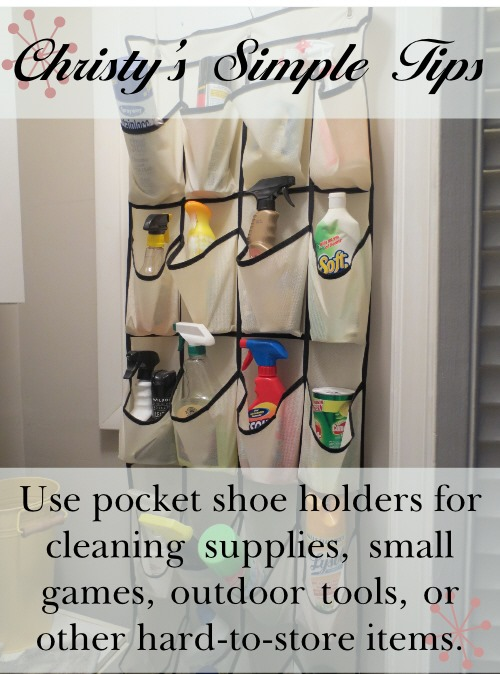 Pocket Shoe Holders Pinnable