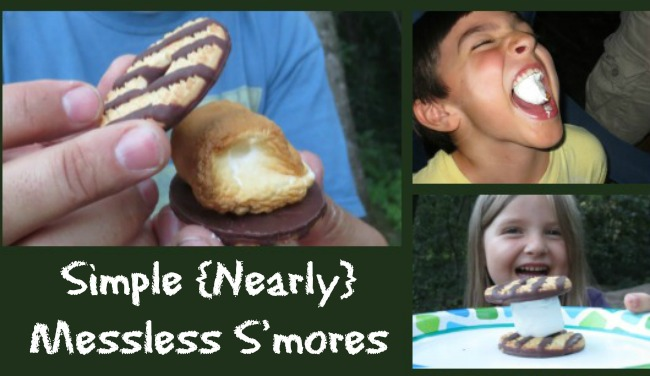 Simple {Nearly} Messless S'mores