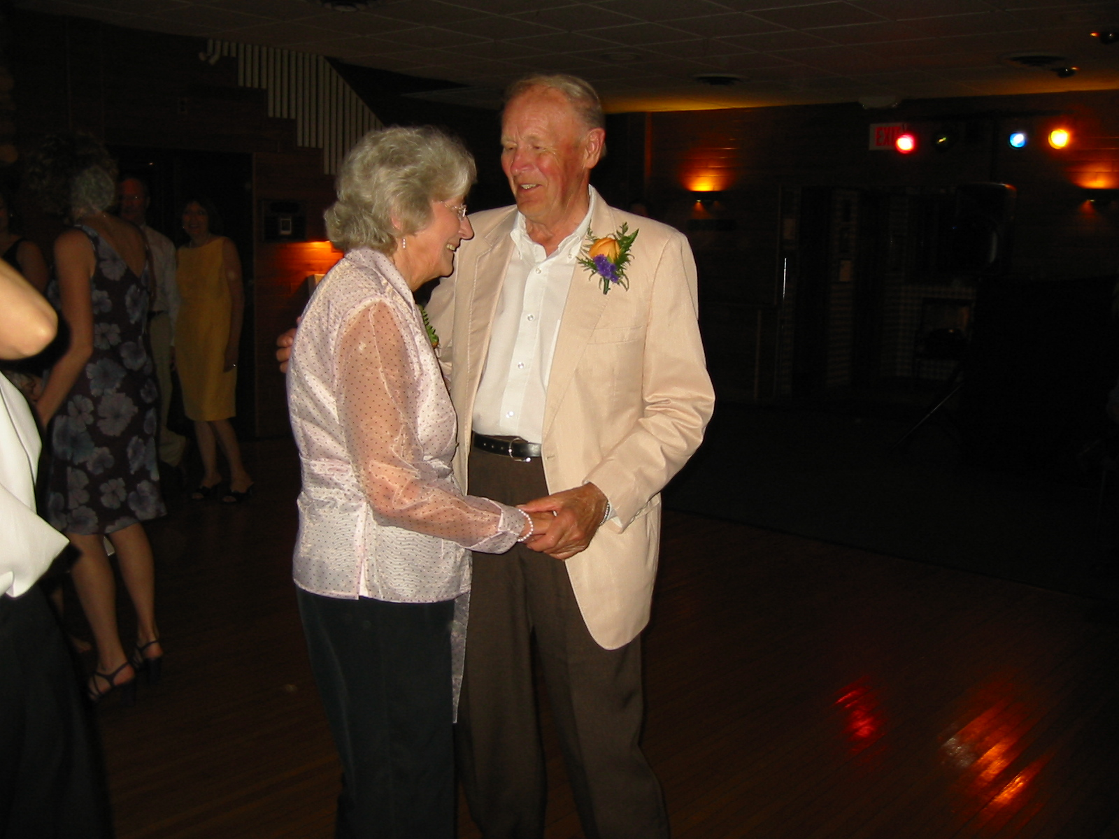 Grandma and Grandpa Dancing