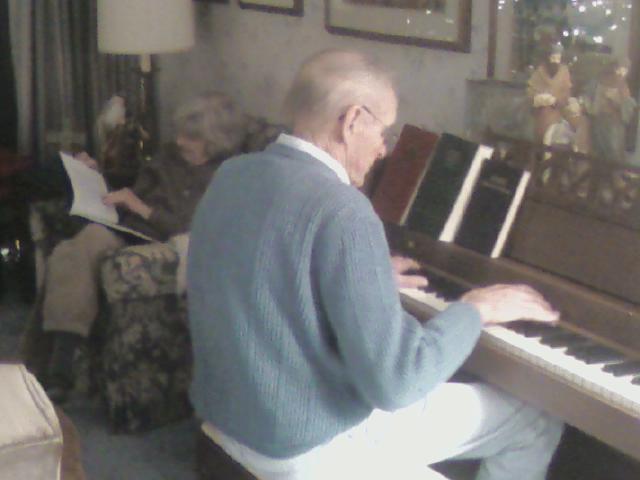 Grandpa at the Piano