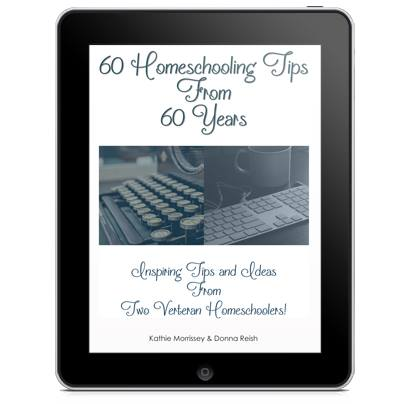 60 Homeschooling Tips From 60 Years--Read what two experienced mothers have to say about homeschooling their combined 15 children. SO helpful!