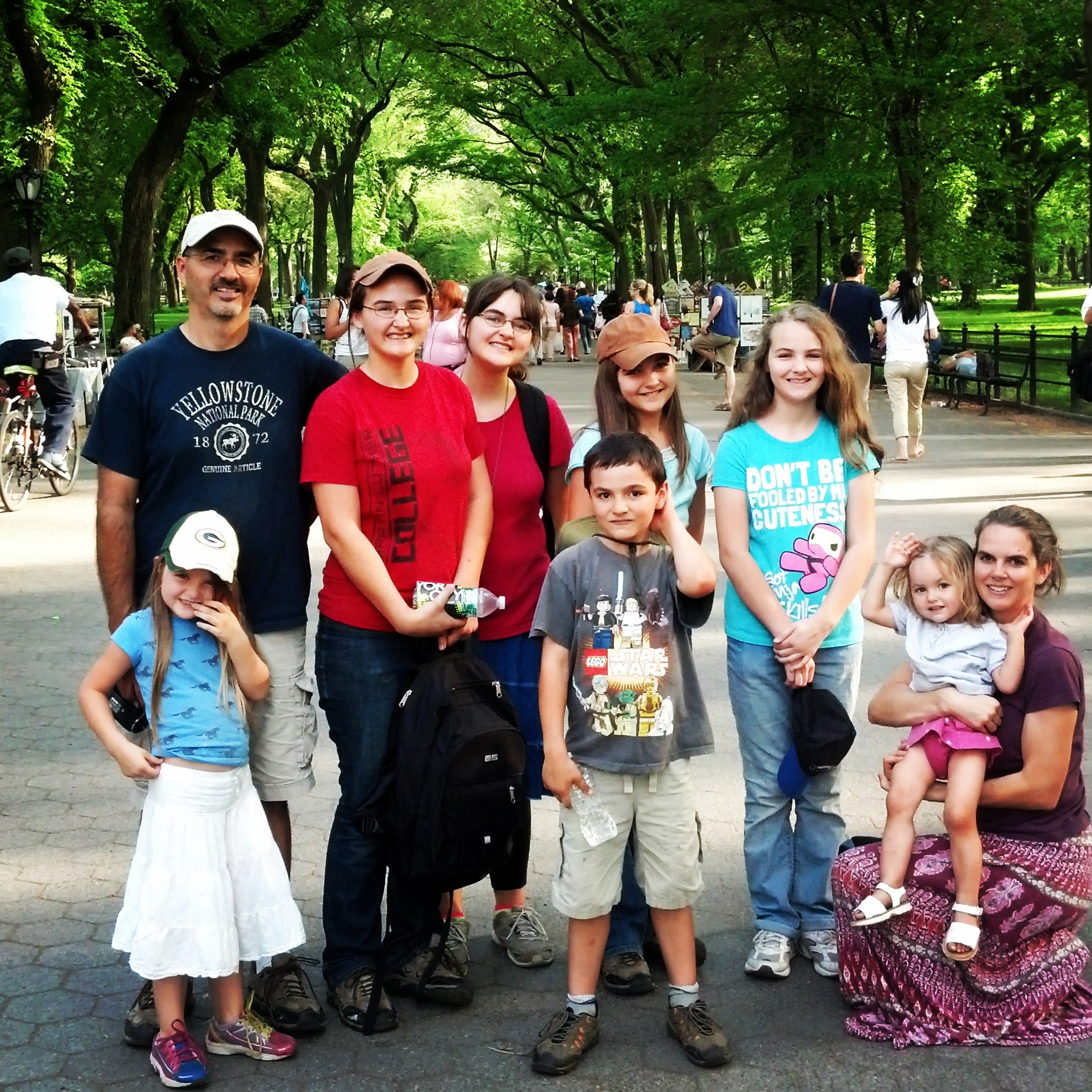 My family. I love the whole Jesus-lpvin' crew!