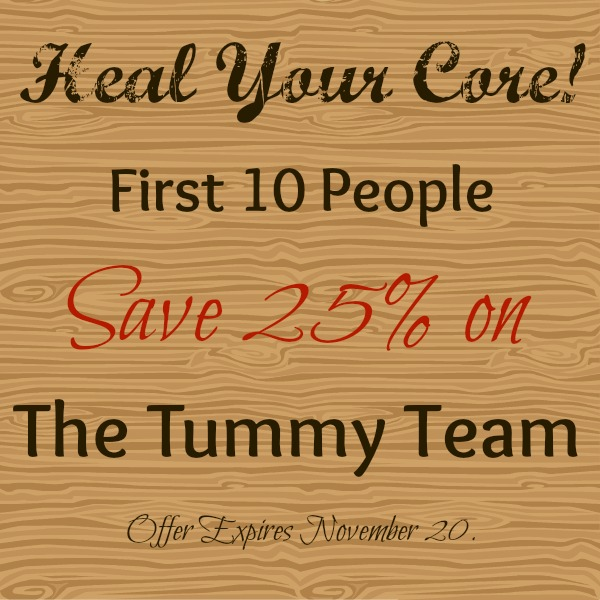 Heal Your Core! Limited Time Offer!