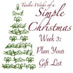 Twelve Weeks of Simple Christmas Week 3