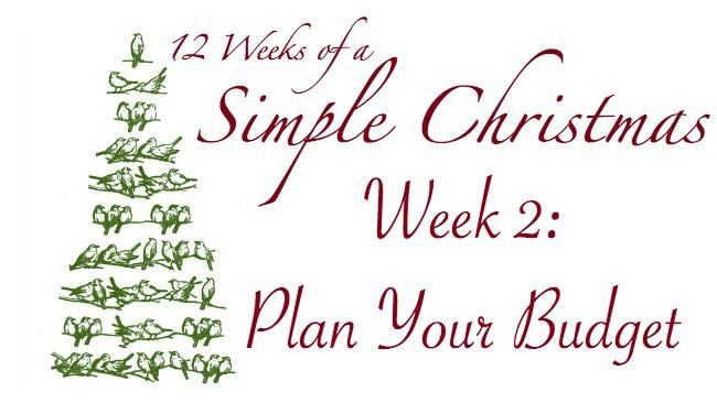 Twelve Weeks of a Simple Christmas: Week Two Mission