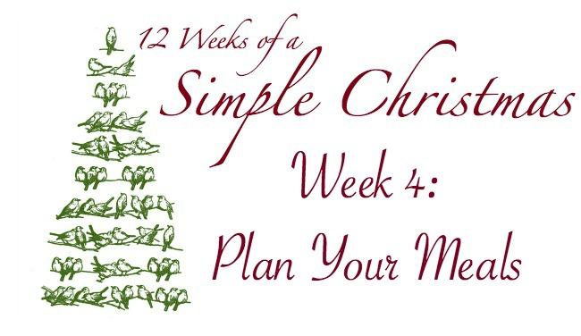 Twelve Weeks of a Simple Christmas: Week 4 Mission