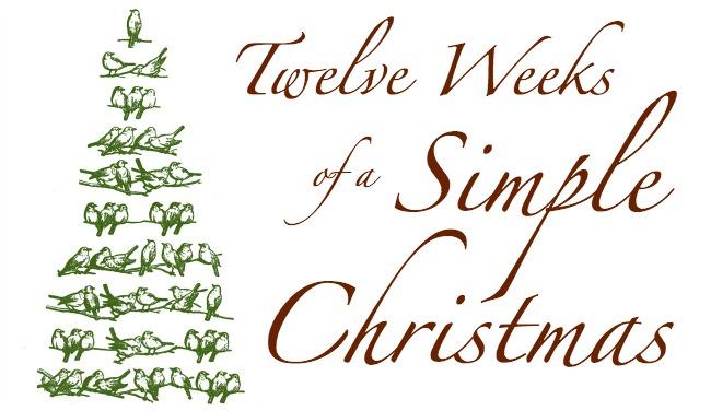 Twelve Weeks of a Simple Christmas