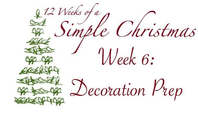 Twelve Weeks of a Simple Christmas — Week 6 Mission