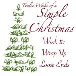 Twelve Weeks of Simple Christmas Week 11