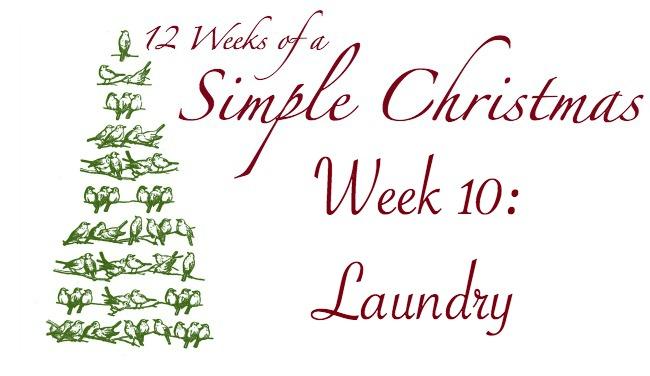 Twelve Weeks of a Simple Christmas — Week 10