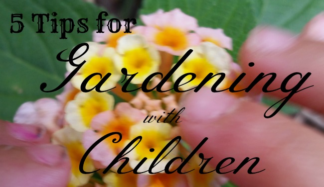 5 Simple Tips for Gardening With Children
