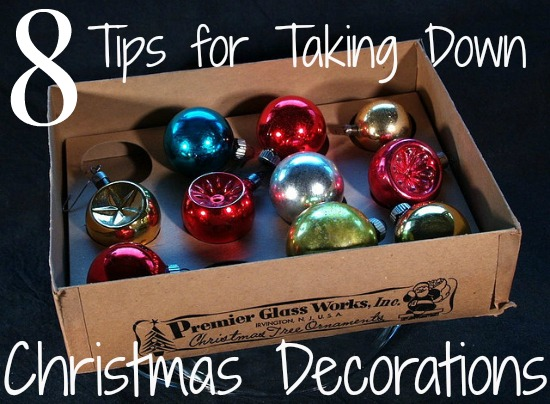 8 Tips for Taking Down Christmas Deocrations
