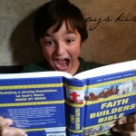 Faith Builders Bible -- A Review by a Homeschool Mom and Her Son