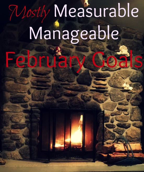 Join The Simple Homemaker in setting mostly measurable, manageable goals for February.