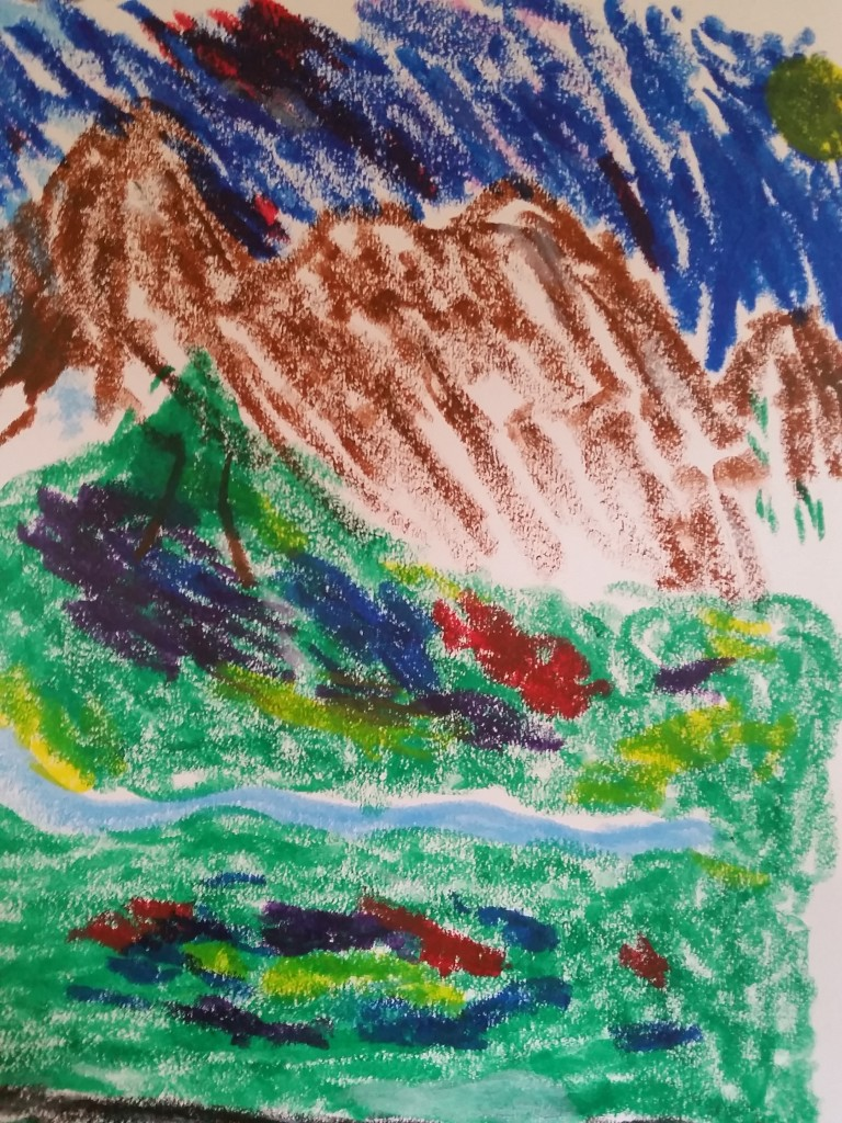 Mess-free painting for kids!