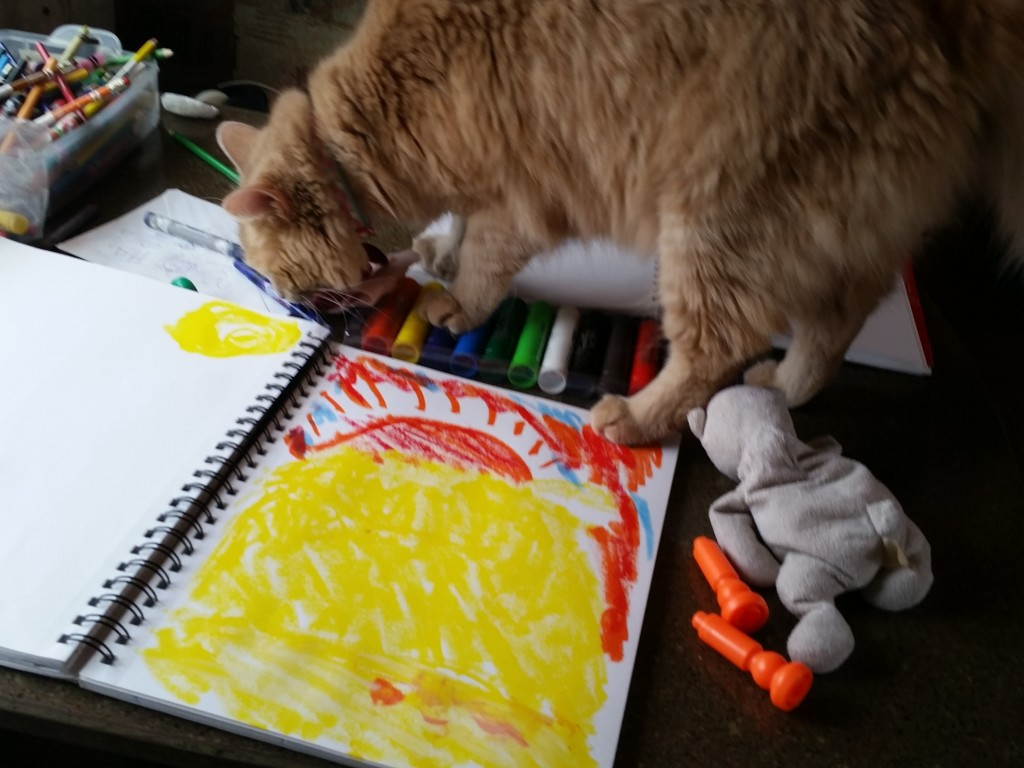 Paints even the cat can't mess up!
