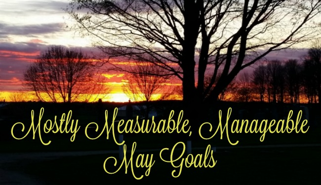 Mostly Measurable, Manageable May Goals